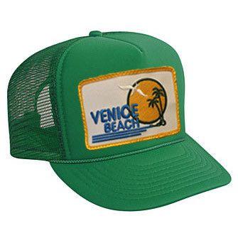 VENICE BEACH VINTAGE TRUCKER HAT - Aviator Nation - 1