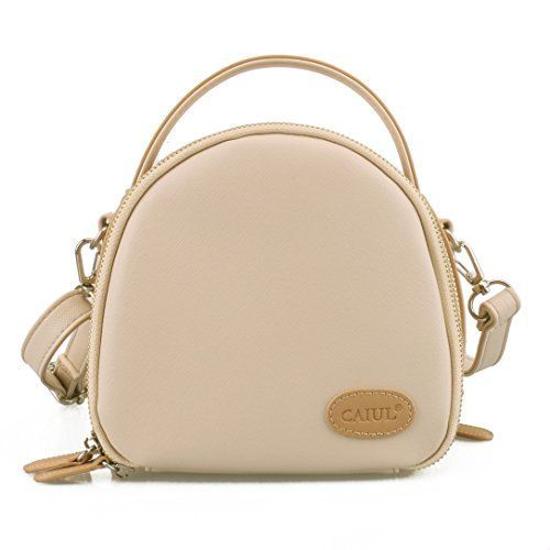 CaiulBasic Instax Mini First Generation Zipper Universal Camera Case for Fujifilm Instax Mini 8 70 7s 25 50s 90 Camera Beige * Click on the image for additional details.