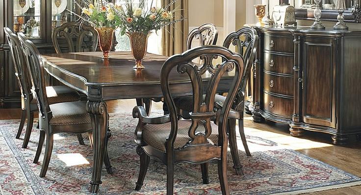 Orijinal Amerikan Bernhardt Yemek Takımı, Jamestown Koleksiyonundan #mobilya #ev #dekorasyon