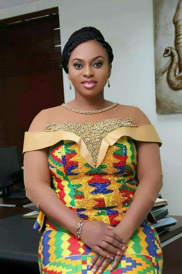 336 best images about Kente Fashion on Pinterest
