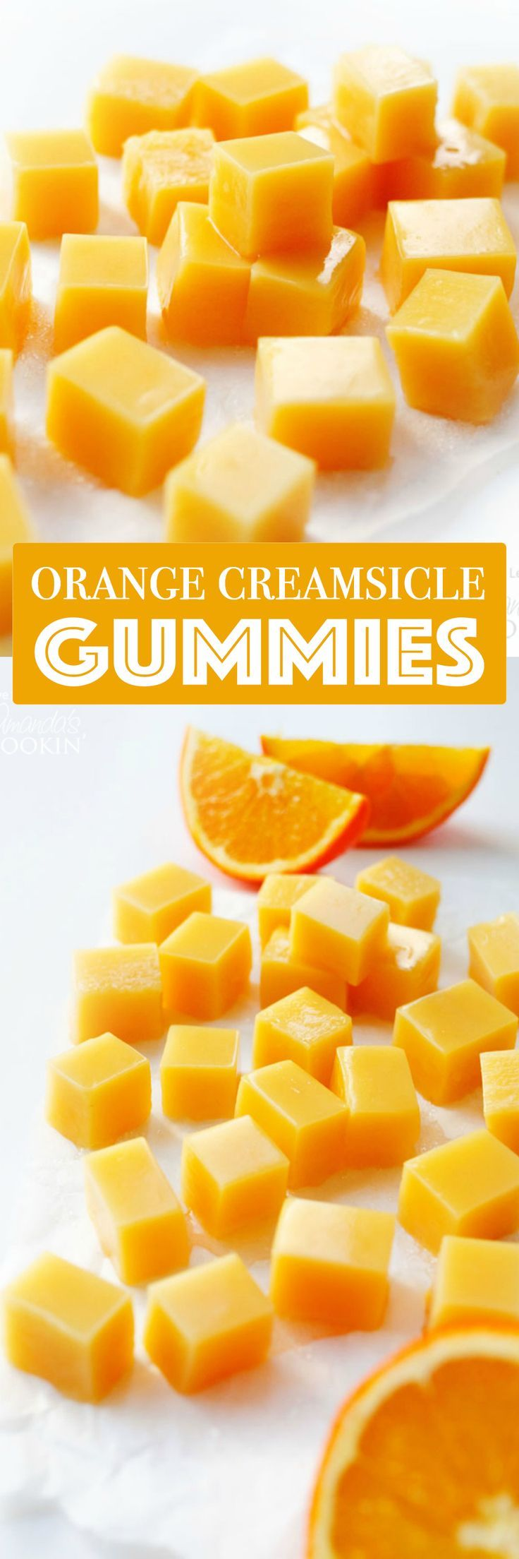You can make your own Orange Creamsicle Homemade Gummies with just a few ingredients (and no fancy thermometers or steps required!)