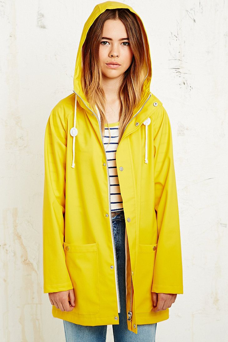 Yellow Rain Jacket Jacket To
