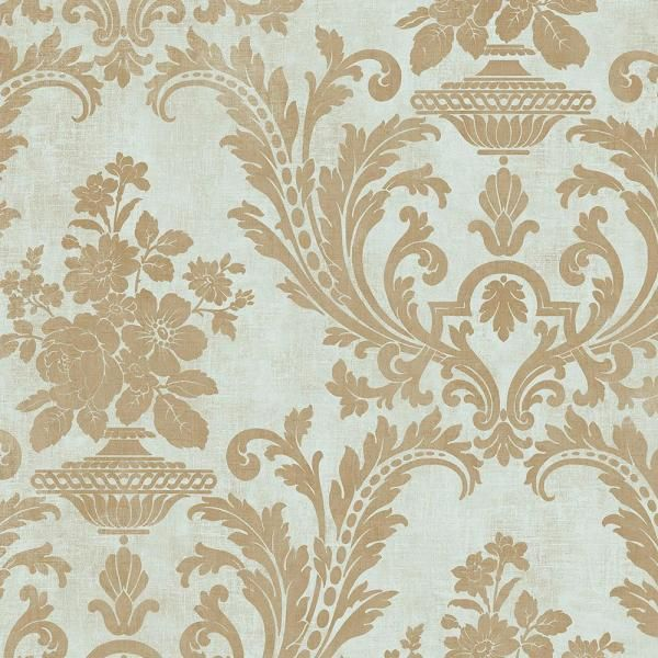 Norwall Sari With Texture Vinyl Roll Wallpaper Covers 55 Sq Ft Sd36155 The Home Depot Gold Textured Wallpaper Textured Wallpaper Black Textured Wallpaper