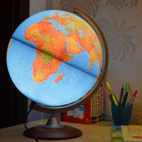 Bambinito globus podświetlany fizyczny, kula 30 cm Nova Rico tylko 129,90zł w ArtTravel.pl