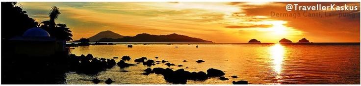 Sunset Dermaga Canti - Lampung -
