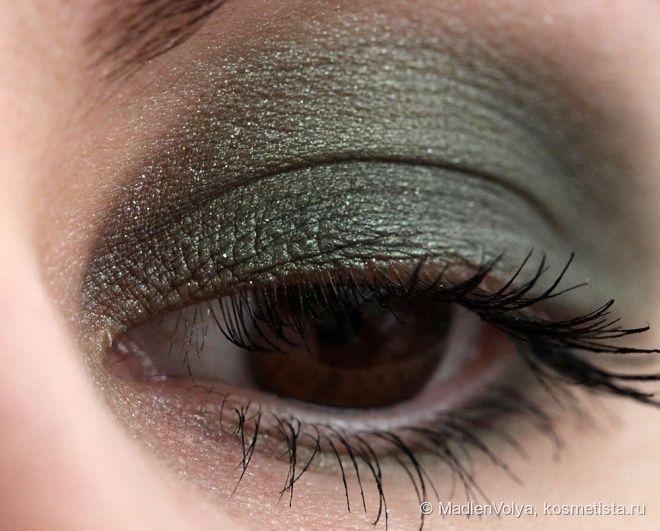 Collistar Double Effect Eye Shadow Wet&Dry #10 Verde Dorato