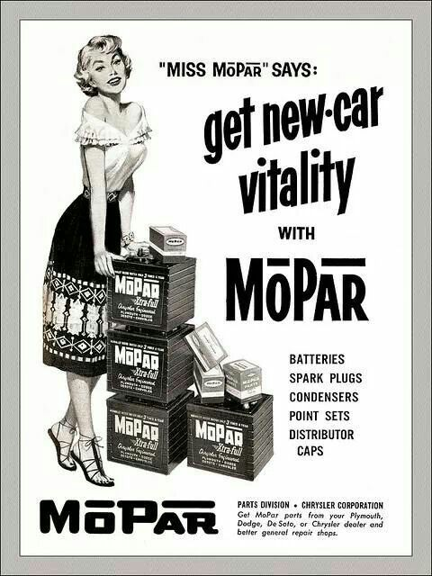 Mopar Parts Ad