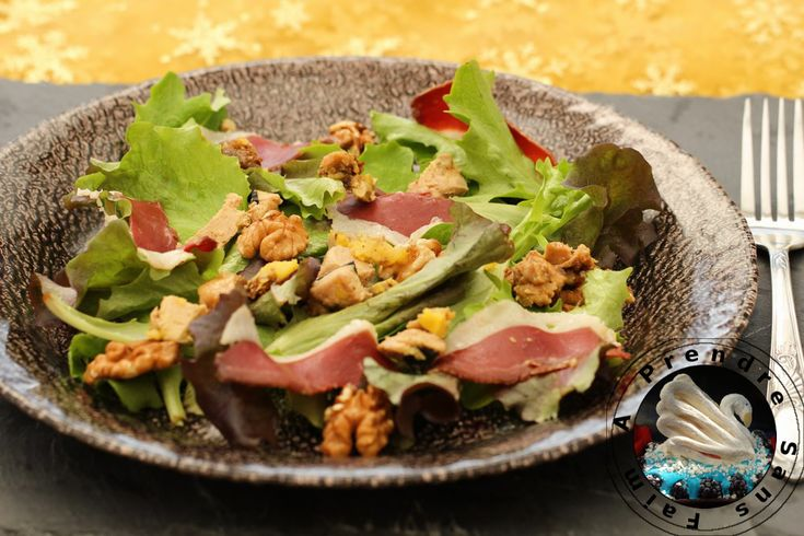 Salade landaise http://www.aprendresansfaim.com/2016/04/salade-landaise.html