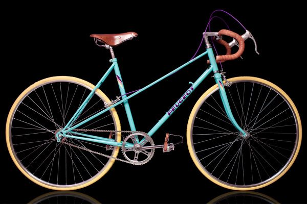 Peugeot Deauville mixte single-speed (by Antti Konga)