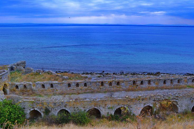 Seddülbahir kalesi deniz burçları.. seddülbahir fotoğrafları / Sea Wall of Seddülbahir Fortress.. Seddülbahir photos