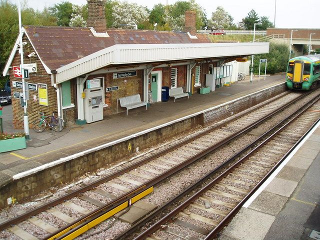 Goring-by-Sea Railway Station (GBS) in Goring, West Sussex