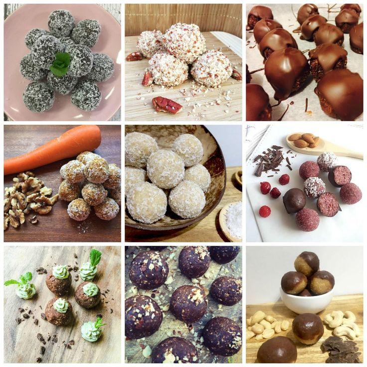 10 Bliss Balls Under 100 Calories