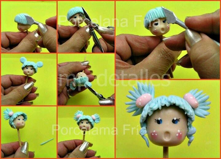 .petite tete de poupée