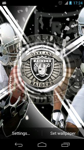 oakland raiders live wallpaper android free image