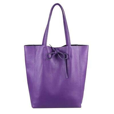 ITAL DAMEN LEDER TASCHE Shopper Schultertasche Henkeltasche Handtasche Tote Bag:… – Italyshop24.com
