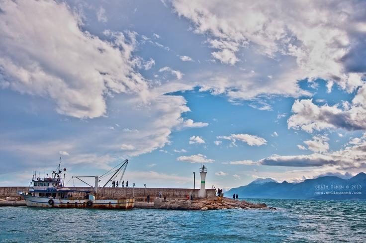 Harbour of Antalya