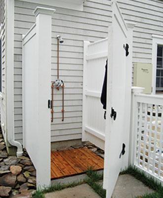 Barnstable Outdoor Shower Enclosure