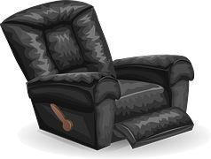 Sofa, Stoel, Luie Jongen, Rusten
