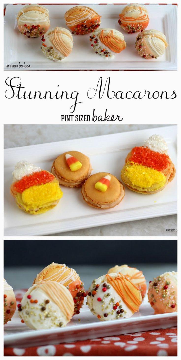 Pint Sized Baker: Fancy Pumpkin Spice Macarons