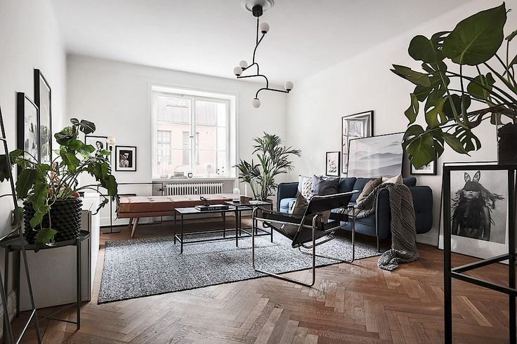 Stockholm apt. with touch of blue 1