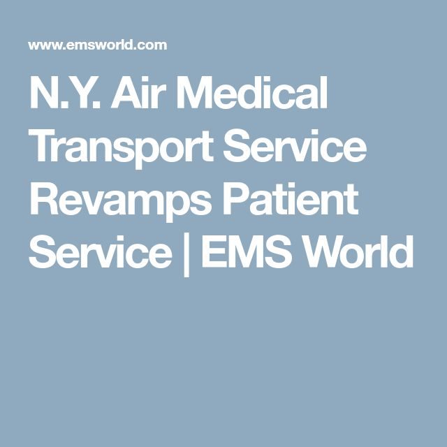 N.Y. Air Medical Transport Service Revamps Patient Service | EMS World