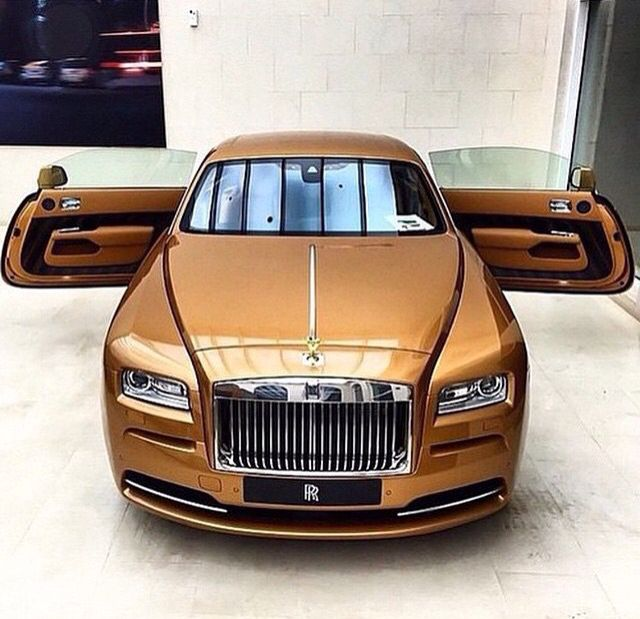Rolls-Royce Wraith, Bronze. This here is Wraith, Bronze next new babe! https://www.pinterest.com/source/instagram.com