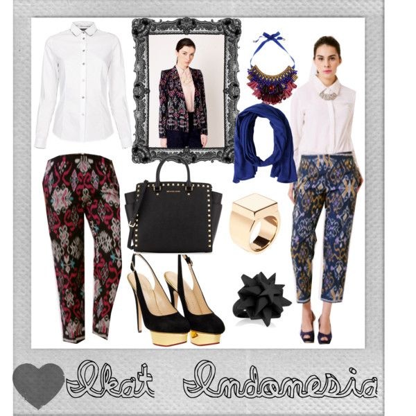 """Ikat Indonesia"" by ekamulya on Polyvore"