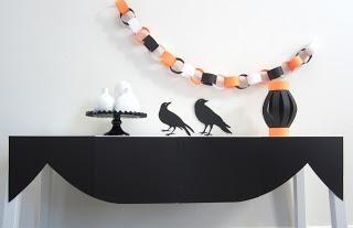 Paper Halloween Display