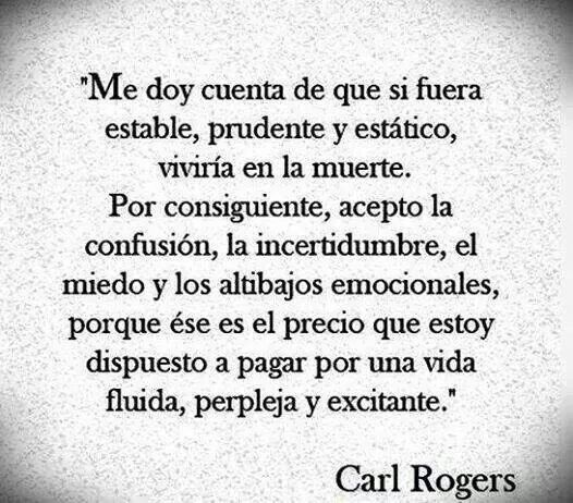 Carl Rogers... cambios.