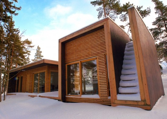 Designed By Saunders Architecture. U201cSummerhouse Aaland Was Designed By Todd  Saunders And Tommie Wilhelmsen In The Fall Of This House Takes The Form Of  A ...