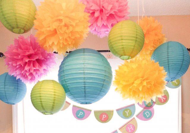Бумажные шары