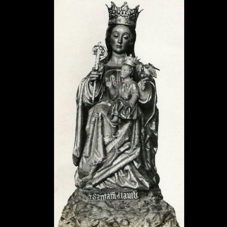 """""""Santa María de la Victoria"""", imagen del suplemento del """"Boletín Oficial del Obispado"""" de Málaga impreso en 1931 #magarte #Historiadelarte #patronademalaga #santamariadelavictoria 251/365"""
