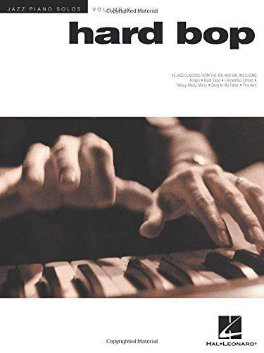 Hard Bop: Jazz Piano Solos Series Volume 6 by Brent Edstrom https://www.amazon.ca/dp/0634025562/ref=cm_sw_r_pi_dp_U_x_9ZWqAbDZH5YR0