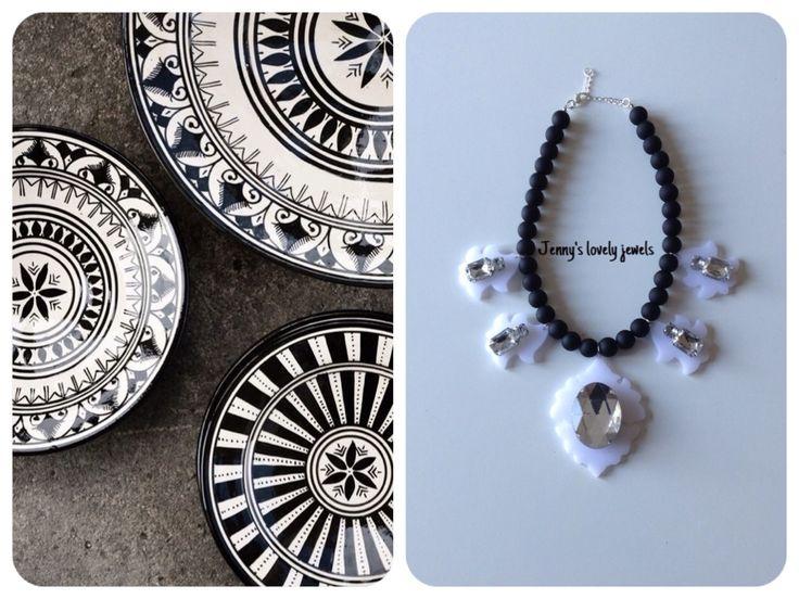 Necklaces ,decor, plates