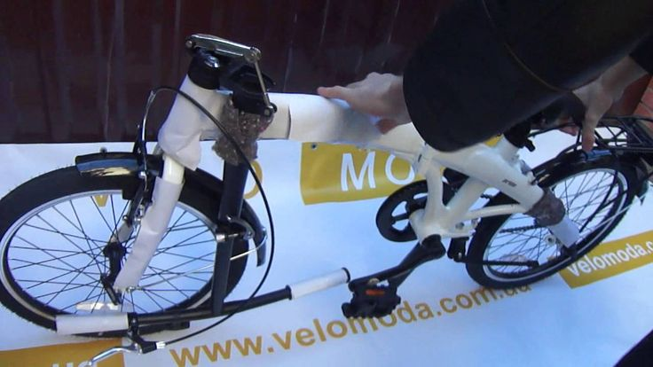 Универсальный складной велосипед 20'' Pride MINI 1sp белый глянцевый 2015