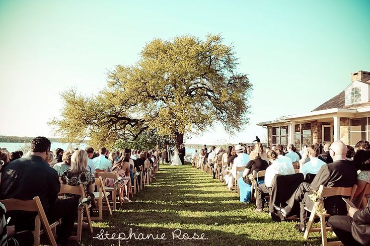 rustic charmed wedding at winfrey point on white rock lake
