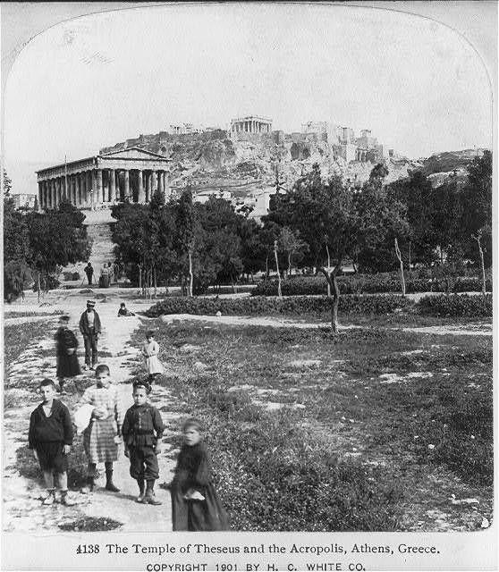 Photo:Athens,Greece: The Temple of Theseus,the Acropolis