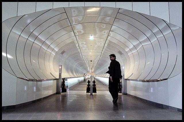 Tube station / Metrostation Wilhelminaplein - Rotterdam (the Netherlands)