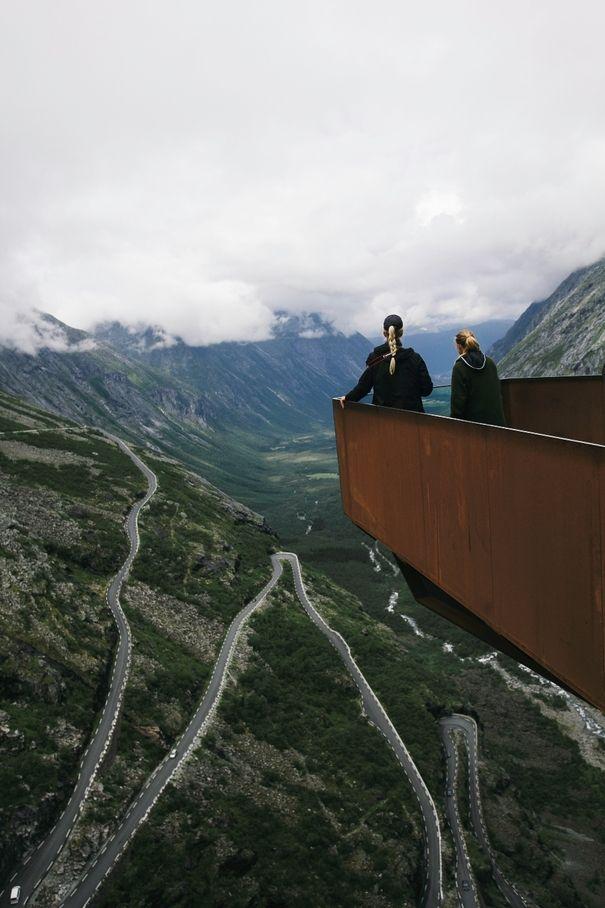 Trollstigen | RGU student David Jebb travelled to Norway to visit the Turistveger | Feed | Aberdeen | STV