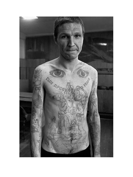 Tatuajes carcelarios rusos: Archivo fotográfico - Cultura Inquieta