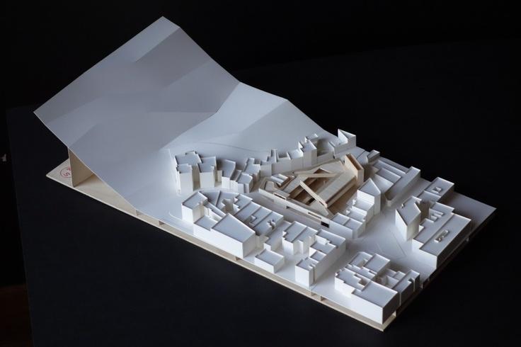 CGC Bellavista / Smiljan Radic + Eduardo Castillo Model