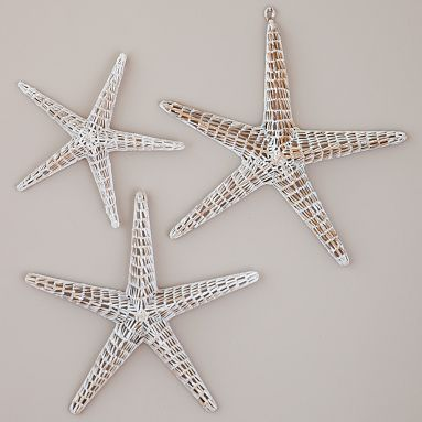 Merveilleux Wicker Starfish Decorations So Cute And Beachy!