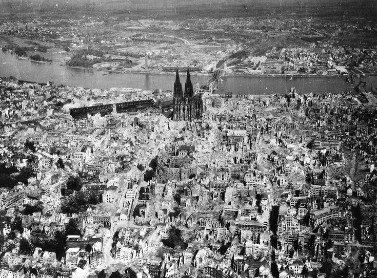 cologne germany . after war .