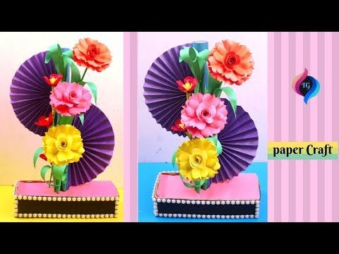 How To Make Home Decoration With Paper Diy Simple Paper Craft