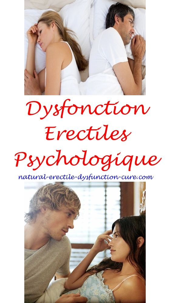 dysfonction eréctile psychologique