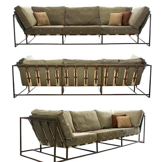 Industrial Style Couch Industrial Sofa Military Grade ...