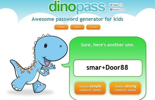 DinoPass, un generador de contraseñas seguras para niños (y también mayores)