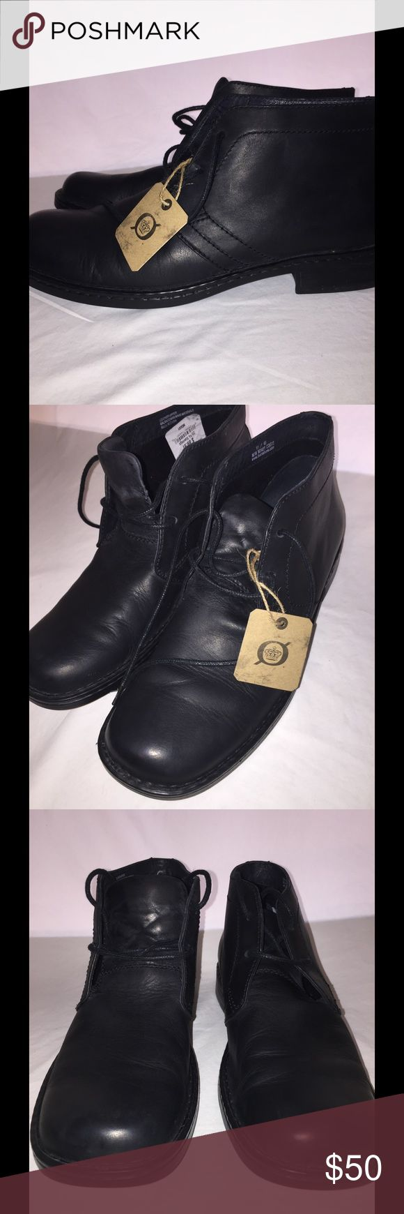 Born Men's Chukka Boots Calf Leather These are the comfortable boot in the world with the high grade calf Leather and cushioned soles. Hardly worn. Born Shoes Chukka Boots