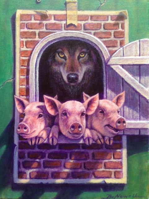 Three Little Pigs & The Big Bad Wolf