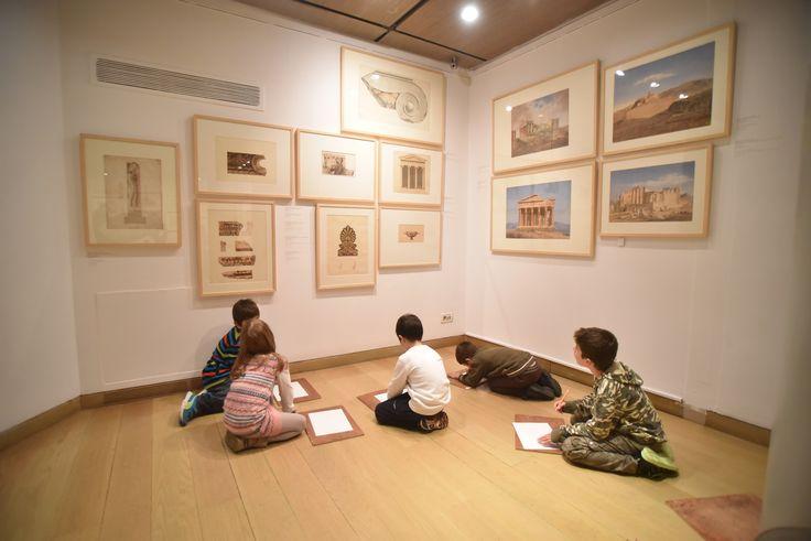 Οι Μικροί Μουσειολόγοι στο Μουσείο Θεοχαράκη. #Plaisio #Πλαίσιο #event #Mikroi_Mouseiologoi #fun #art #kids #children
